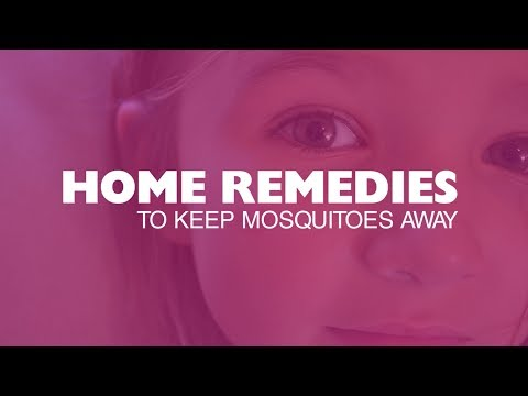 Home remedies to keep mosquitoes away