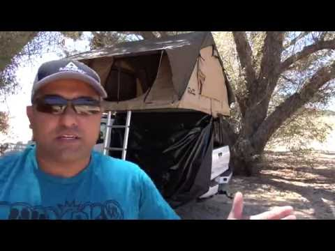 How to setup a CVT Roof top Tent  - NorCal Overland