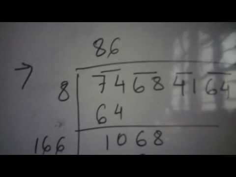 How to find square root of a given number using division method