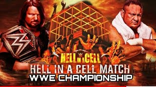 hell in cell 2019