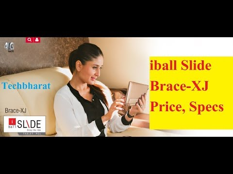 iBall Slide Brace-XJ with 4G VoLTE and Kickstand: Check Price (Hindi)