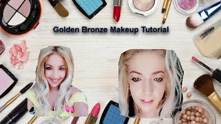 Download Start Of A New Fashion Channel | Golden-Bronze Summer Makeup style Tutorial Video