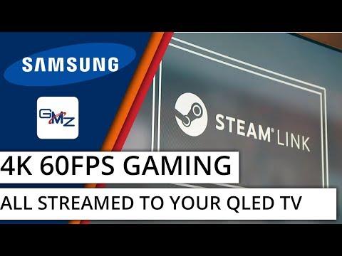 Streaming PC Games at 4K 60FPS: Samsung Q8C QLED SteamLink