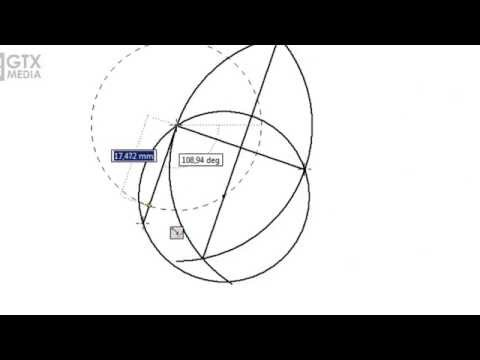 Finding The Center of A Circle using Three Points