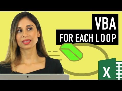 Excel VBA: Loop through cells inside the used range (For Each Collection Loop)