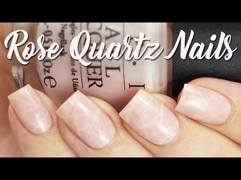 Rose Quartz Nails | The Newest Nail Trend??