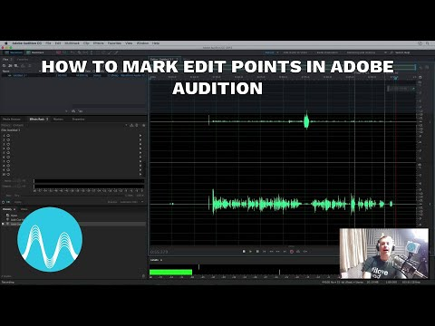 How to Mark Edit Points in Adobe Audition