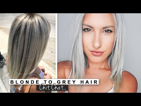 Blonde to Grey Hair - My Etsy Shop Chit Chat ♡ Stefy Puglisevich
