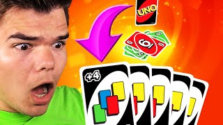 Playing UNO Against My BEST FRIENDS!