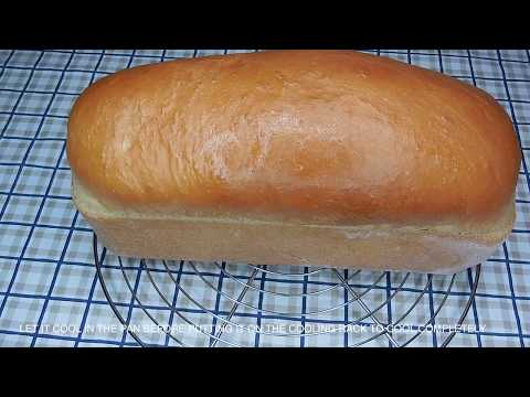 HOW TO MAKE BREAD | HOMEMADE WHITE LOAF BREAD RECIPE