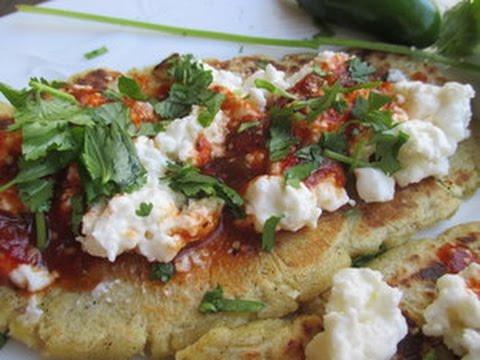 Huaraches, Quesadillas made with Maseca