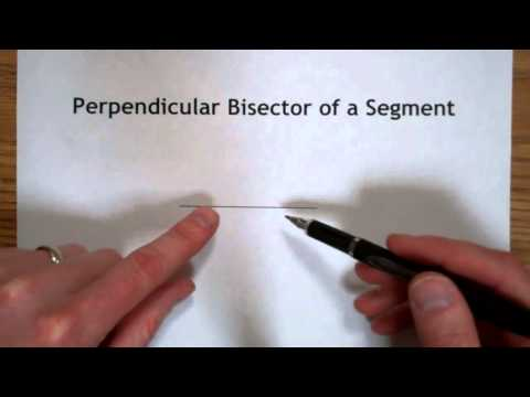 Perpendicular Bisector Construction