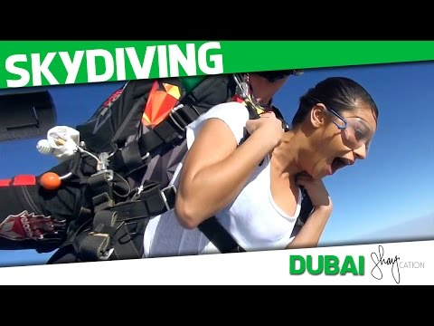 Skydiving in Dubai   Shaycation