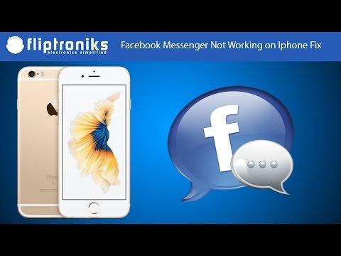Facebook Messenger Not Working on Iphone Fix - Fliptroniks.com