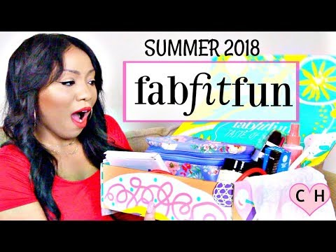 FABFITFUN SUMMER 2018 UNBOXING & SPOILERS | $350 WORTH OF PRODUCTS!