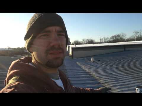 Your Handyman- fiberd aluminum roof coating prt 1