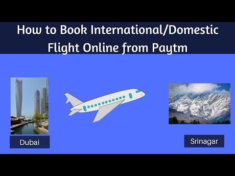 How to Book International/Domestic Flight through Paytm