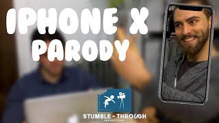 iPhone X Glitch Parody