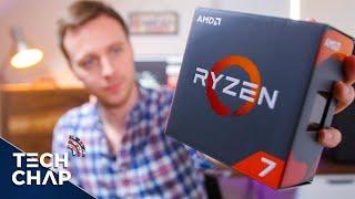 RYZEN 7 1800X Review - A $500 CPU Worth Buying? (1800X vs i7-6900K vs i7-7700K) | The Tech Chap