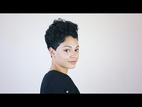curly pixie: privé cutting step by step #6