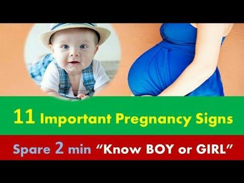 11 Symptoms for BOY OR GIRL/ Pregnancy/ Baby Boy in Pregnancy
