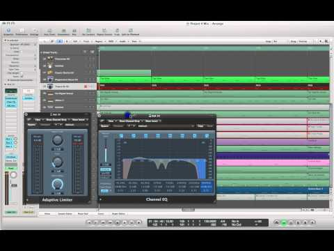 Learn how to make a Trance Kick Drum with Compression/EQ and Adaptive Limiter
