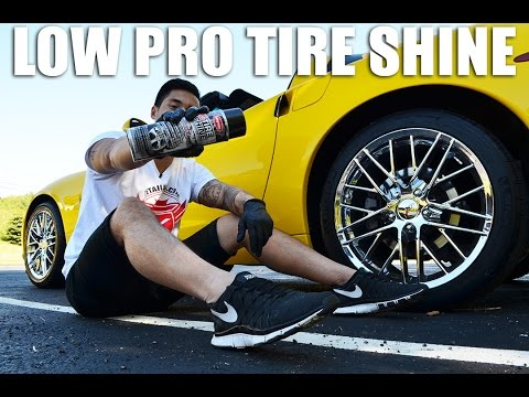 How to dress Low Profile Tires