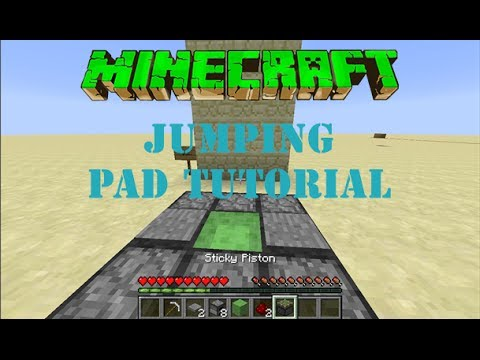 Minecraft: How to Make Jumping Pads