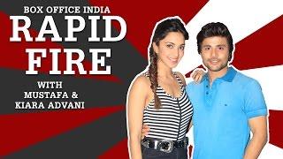 Rapid Fire - Machine Actors - Kiara Advani & Mustafa Reveal Some Interesting Facts