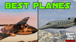 GTA 5 - Best Planes in the Game (Fighter Jets, Luxury, Top Speed etc...)