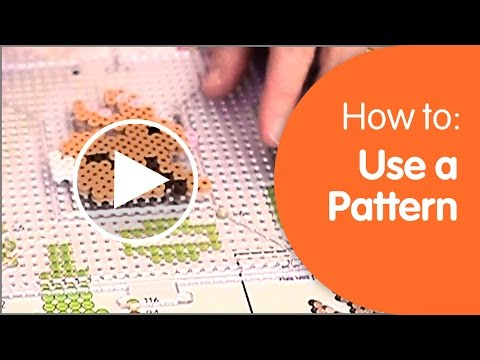 How to Use a Perler Pattern