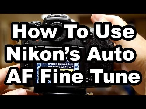 Nikon's Auto AF Fine Tune - How To Get The Most From It