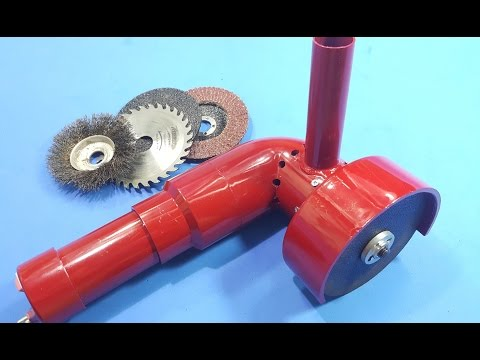 How to make a Multifunctional Machine Grinding - Cutting - Sawing