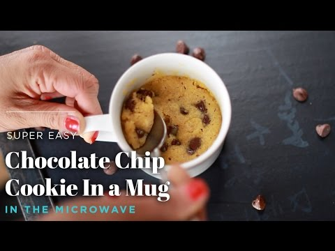 How to Make a Chocolate Chip Mug Cookie in the Microwave - 2 Minutes