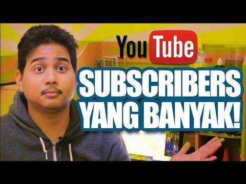 Belajar Youtube - Cara Mendapatkan Subscriber