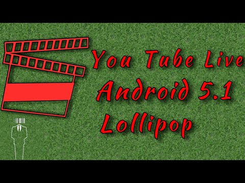 How to go Live On YOUTUBE ||Android 5.1 Lollipop