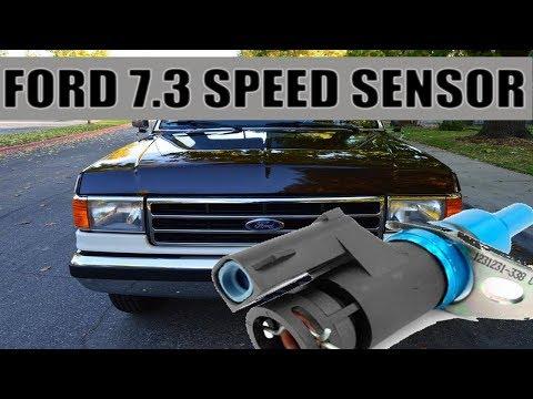 1988-1996 Ford Diesel 7.3 Replace Transmission Output Sensor Speed Sensor