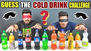 GUESS THE COLD DRINK CHALLENGE | GUESS THE SOFT DRINK COMPETITION | Food Challenge in India (Ep-110)
