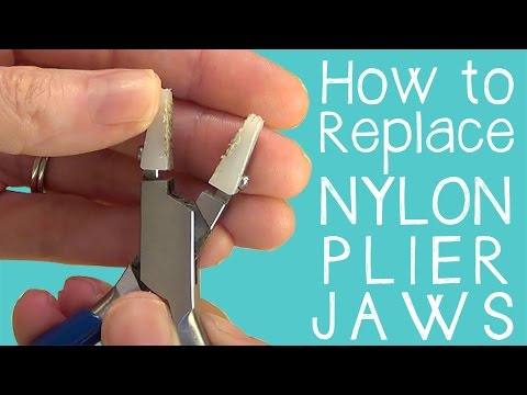 How to Replace the Jaws on Nylon Jaw Chain Nose Pliers