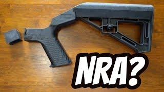 Reaction To Nra Bump Fire Statement