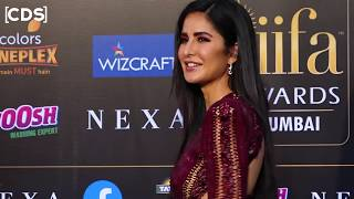 Katrina Kaif H0T 0PEN Dress At IIFA Awards 2019 Red Carpet