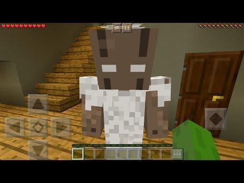I FOUND GRANNY HORROR in Minecraft Pocket Edition