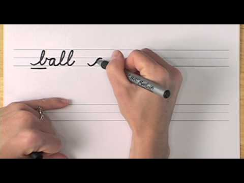 How To Write in Cursive // Lesson 14 // A complete Course // FREE Worksheets