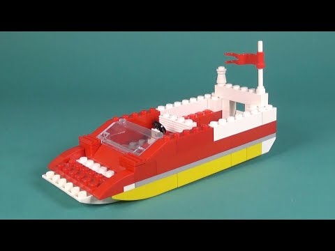 Lego Boat (003) Building Instructions - LEGO Classic How To Build - DIY