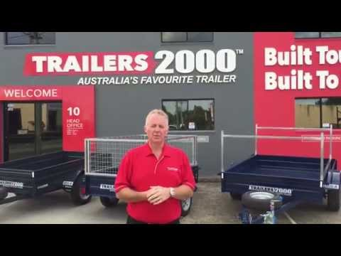Painted Galvanised Trailers by Trailers 2000