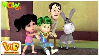 Vir The Robot Boy | Hindi Cartoon shows For Kids | Powerless Vir | Animated cartoon| Wow Kidz
