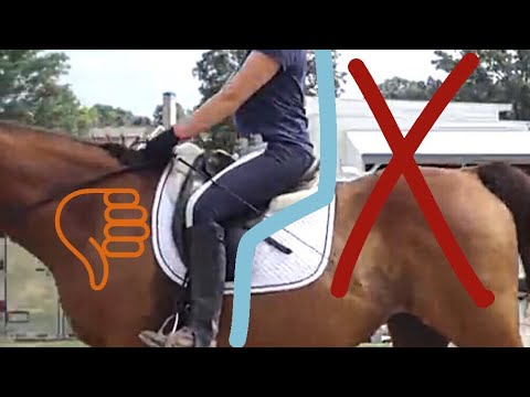 HOW TO FIX Your Chair Seat Position // Improve Your Riding