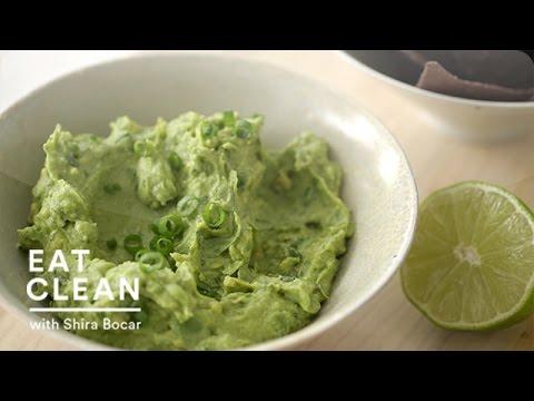 Mashed Avocado and Hummus Dip Recipe  - Eat Clean with Shira Bocar