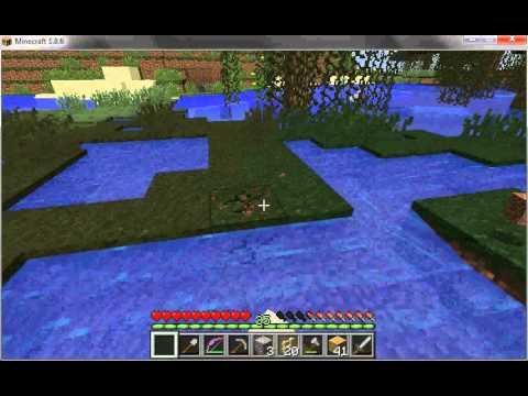 Minecraft single player block break lag (1.8.6)
