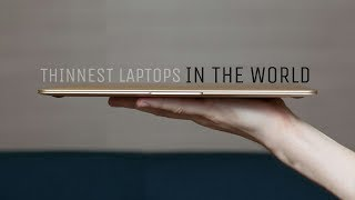 5 Thinnest Laptops In The World